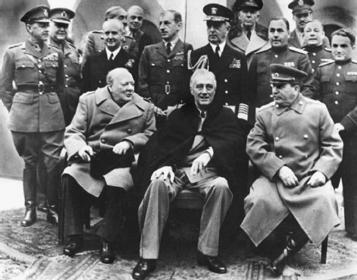 встреча в ялте 1945 фото